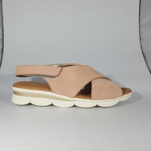 The Flexx Rose Suede Platform Sandal